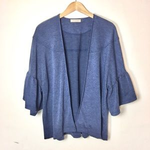 ANTHROPOLOGIE NEW Bell Sleeve Cardigan
